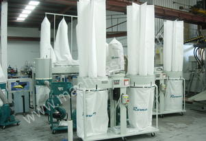 ROMAC SF 005 TWIN BAG DUST COLLECTOR