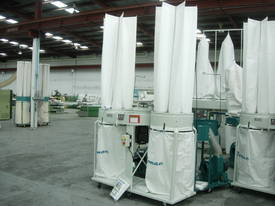 ROMAC SF 005 TWIN BAG DUST COLLECTOR - picture6' - Click to enlarge