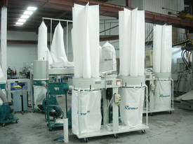 ROMAC SF 005 TWIN BAG DUST COLLECTOR - picture0' - Click to enlarge