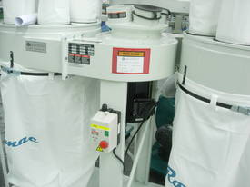 ROMAC SF 005 TWIN BAG DUST COLLECTOR - picture3' - Click to enlarge