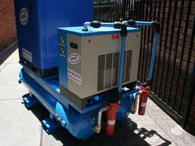German Rotary Screw - Variable Speed Drive 25hp / 18.5kW Rotary Screw Air Compressor.. Power Savings - picture2' - Click to enlarge