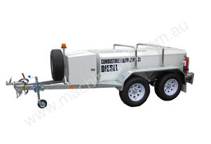 2000 LITRE TRAILER MOUNTED DIESEL TANK
