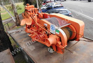 10,000kg winch twin drum , capstan winch