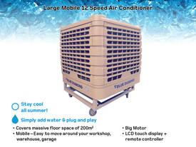 LARGE Mobile Evaporative Air conditioner - Cooler