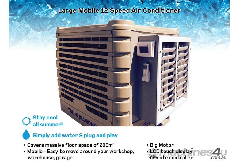 Make Up Air Evaporative Cooler : New blue diamond air conditioner conditioning in