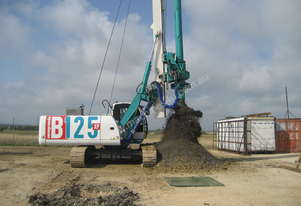 B125XP Piling Rig with CFA Kit