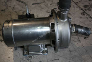 Stainless 3 phase pump 1Hp .75Kw