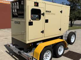 Trailer Mount Kohler KD77 Diesel Generator | Rollmaxx Aluminium Trailer | Total Wet Weight 2100KG | - picture0' - Click to enlarge