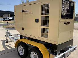 Trailer Mount Kohler KD77 Diesel Generator | Rollmaxx Aluminium Trailer | Total Wet Weight 2100KG | - picture1' - Click to enlarge