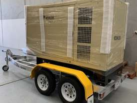 Trailer Mount Kohler KD77 Diesel Generator |Total Wet Weight 2100KG| Rollmaxx Aluminium Trailer - picture2' - Click to enlarge