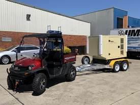 Trailer Mount Kohler KD77 Diesel Generator |Total Wet Weight 2100KG| Rollmaxx Aluminium Trailer - picture9' - Click to enlarge