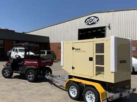Trailer Mount Kohler KD77 Diesel Generator |Total Wet Weight 2100KG| Rollmaxx Aluminium Trailer - picture10' - Click to enlarge
