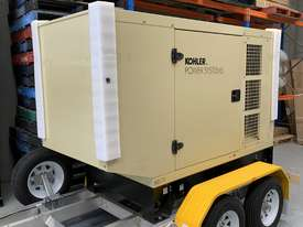 Trailer Mount Kohler KD77 Diesel Generator |Total Wet Weight 2100KG| Rollmaxx Aluminium Trailer - picture1' - Click to enlarge