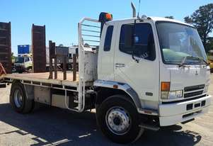 Mitsubishi 8t Beavertail with ramps