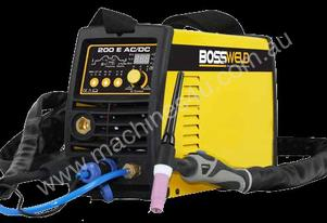 BOSSWELD 200E, AC/DC TIG WELDER (ALLY AND STAINLESS)