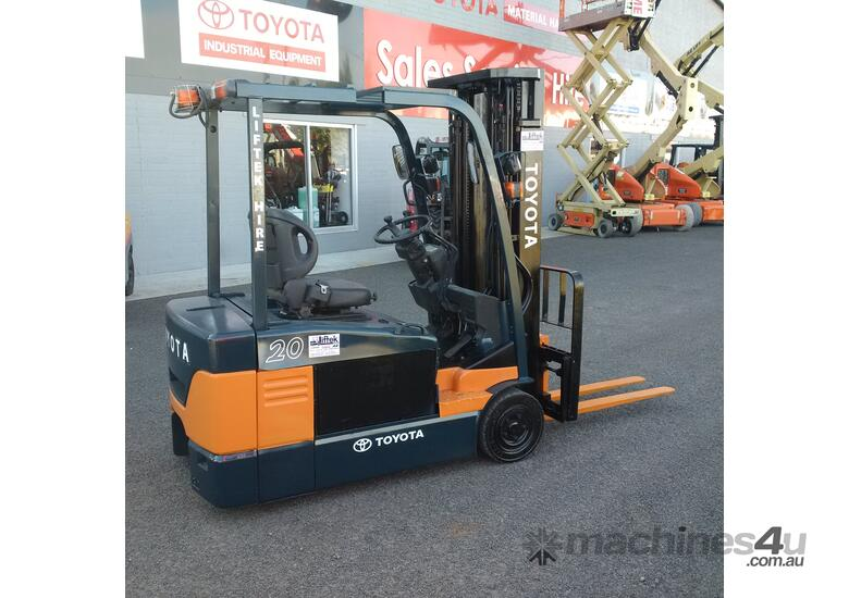 used 2006 toyota 7fbe20 compact forklift in griffith wagga wagga rh machines4u com au Old Toyota Forklift Models Toyota Forklifts Manual 7FGCU30