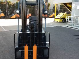 used 2006 toyota 7fbe20 compact forklift in griffith wagga wagga rh machines4u com au Toyota Forklift 7FGU30 Manual Toyota Forklift Model Numbers