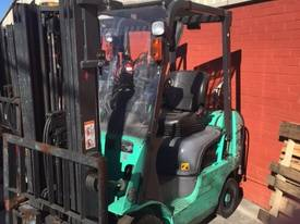Used 2007 Mitsubishi 1.8 tonne LPG forklift - picture0' - Click to enlarge
