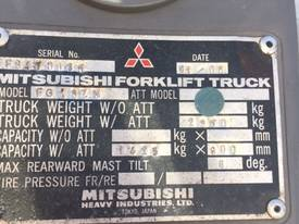 Used 2007 Mitsubishi 1.8 tonne LPG forklift - picture2' - Click to enlarge