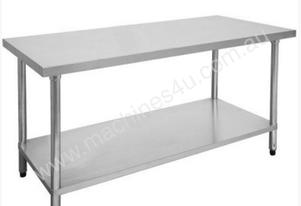 F.E.D. 1200-6-WB Economic 304 Grade Stainless Steel Table 1200x600x900