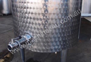 Stainless Steel Jacketed Tank - Capacity 300 Lt.