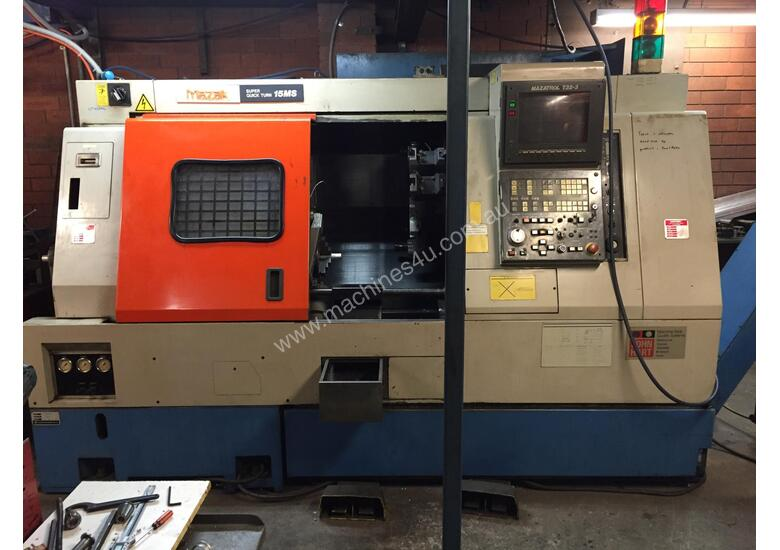 Used mazak SQT15MS CNC Lathe Mill Turn Centre in MENTONE, VIC