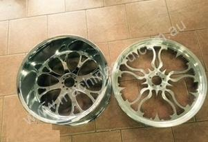 Harley Davidson forged alloy wheels 18x10.5 21x2.1