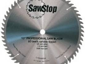 Sawstop 10? sawblade � combination panel and solid