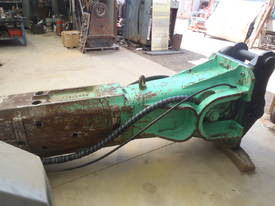 Hydraulic Hammer Montabert V55 - picture5' - Click to enlarge