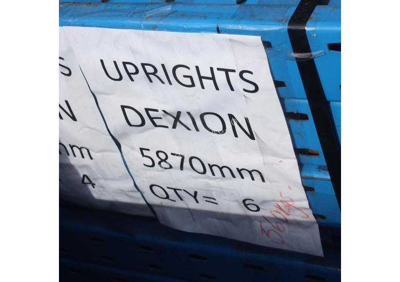 Dexion Upright 5870mm Pallet Racking