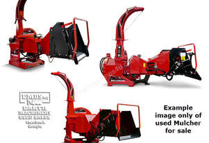 Wallenstein Tractor Wood Chipper