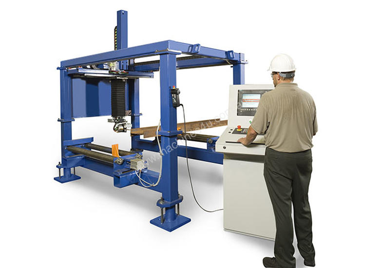 OCEAN LIBERATOR CNC BEAM COPING MACHINE