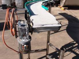 Plastic Intralox Belt Conveyor. - picture0' - Click to enlarge