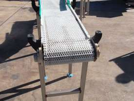 Plastic Intralox Belt Conveyor. - picture1' - Click to enlarge