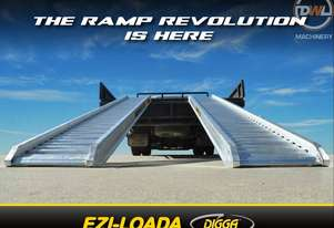 DIGGA ALUMINIUM LOADING RAMP Loading Ramp Attachments