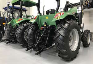 New Enfly 55hp Tractor with front end loader & 3 year warranty