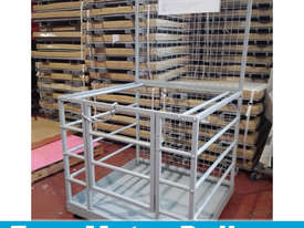 Zinc Forklift Safety Cage Free Metro Delivery - picture0' - Click to enlarge