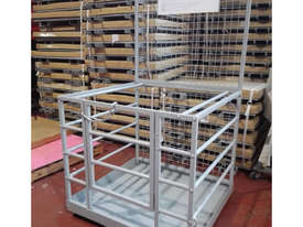 Zinc Forklift Safety Cage Free Metro Delivery - picture2' - Click to enlarge