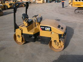 CAT CB334E 4T TWIN DRUM ROLLER - picture0' - Click to enlarge