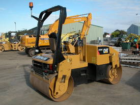 CAT CB334E 4T TWIN DRUM ROLLER - picture1' - Click to enlarge