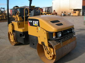 CAT CB334E 4T TWIN DRUM ROLLER - picture2' - Click to enlarge