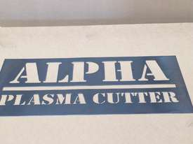 Alpha CNC Plasma Cutter AP1313 1.3x1.3m - servo motor driven - 20m/min - picture3' - Click to enlarge