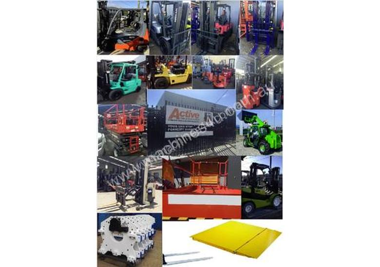 Forklift Long Jib Extents to 3.56m 7500kg Capacity Sydney Stock