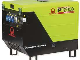 Pramac 13.9 kVA Three Phase Petrol Auto Start Silenced Generator - picture0' - Click to enlarge