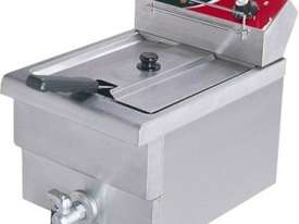 F.E.D BEF-171V 15 Amp Single Benchtop Electric Fryer with Cold Zone - picture0' - Click to enlarge