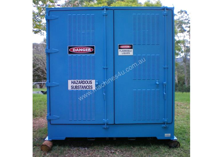 Used Storemasta Dangerous flammable Type 3 goods storage container