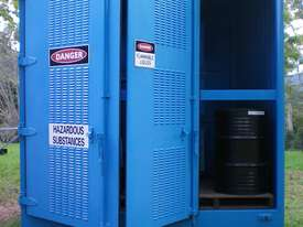 Dangerous/ flammable Type 3 goods storage container - picture2' - Click to enlarge