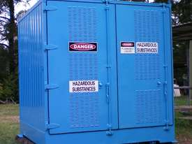 Dangerous/ flammable Type 3 goods storage container - picture4' - Click to enlarge