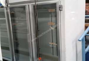 Mec   double glass fridge