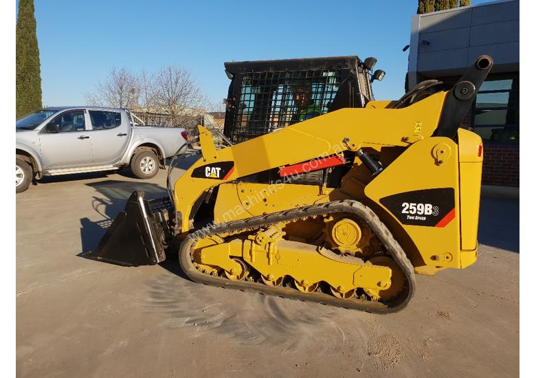 2012 CAT 259B3 TRACK LOADER WITH LOW 1460 HOURS